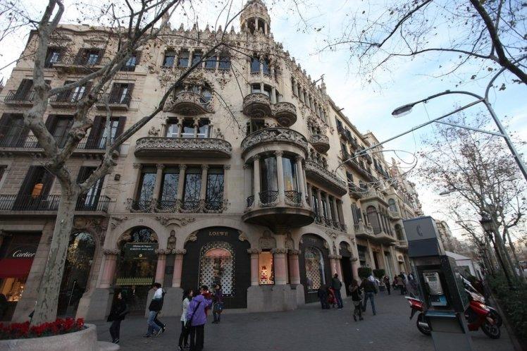 Casa Lleo Morera, architect Lluís Domènech i Montaner